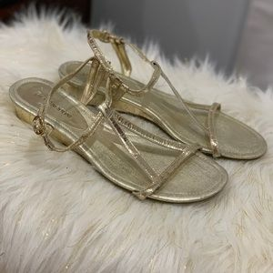 Enzo Angiolini gold sandals size 7.5M